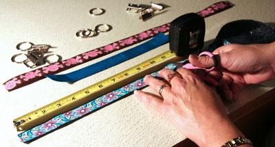 Making a Key Fob - Cut Your Ribbon