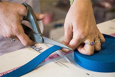 cutting webbing