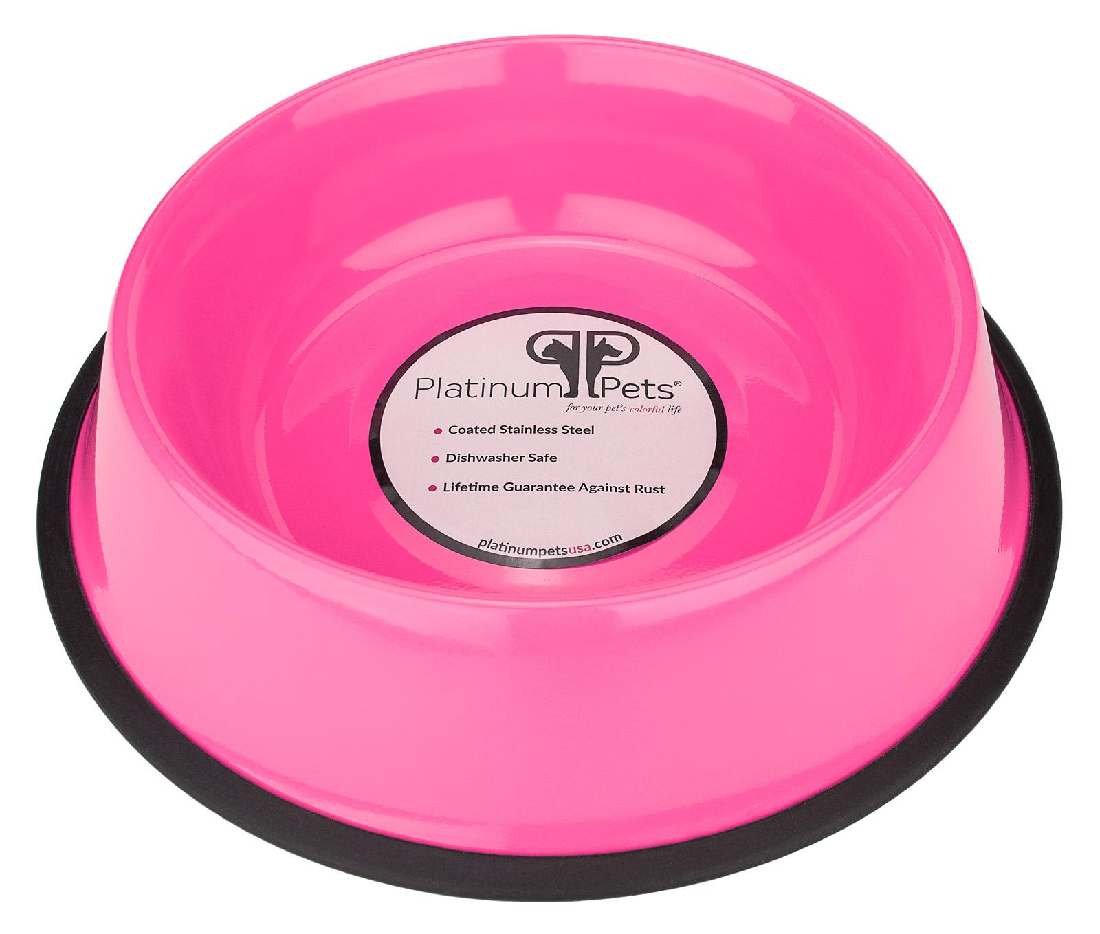 Platinum Pets® 32oz Stainless Steel Dog Bowl