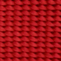 5/8 Inch Bright Red Heavy Nylon Webbing - Swatch