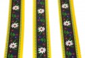 1 Inch Edelweiss Polyester Webbing Closeout - Detailed View