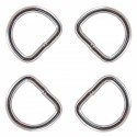 1 Inch Heavy Welded D-Rings (Closeup)