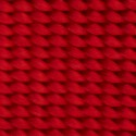 1 Inch Red Heavy Nylon Webbing - Swatch