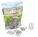 1 1/2 Inch Metal Round Wide Mouth Triglide Slides