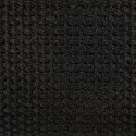 2 Inch Black Acrylic Webbing Closeout - Close Up
