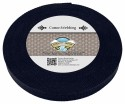 1 Inch Navy Blue Heavy Cotton Webbing - Secondary Angle