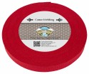 1 Inch Red Heavy Cotton Webbing - Secondary Angle