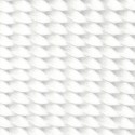 1 Inch White Heavy Nylon Webbing - Swatch