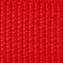 1 Inch Red Polypro Webbing - Closeup View