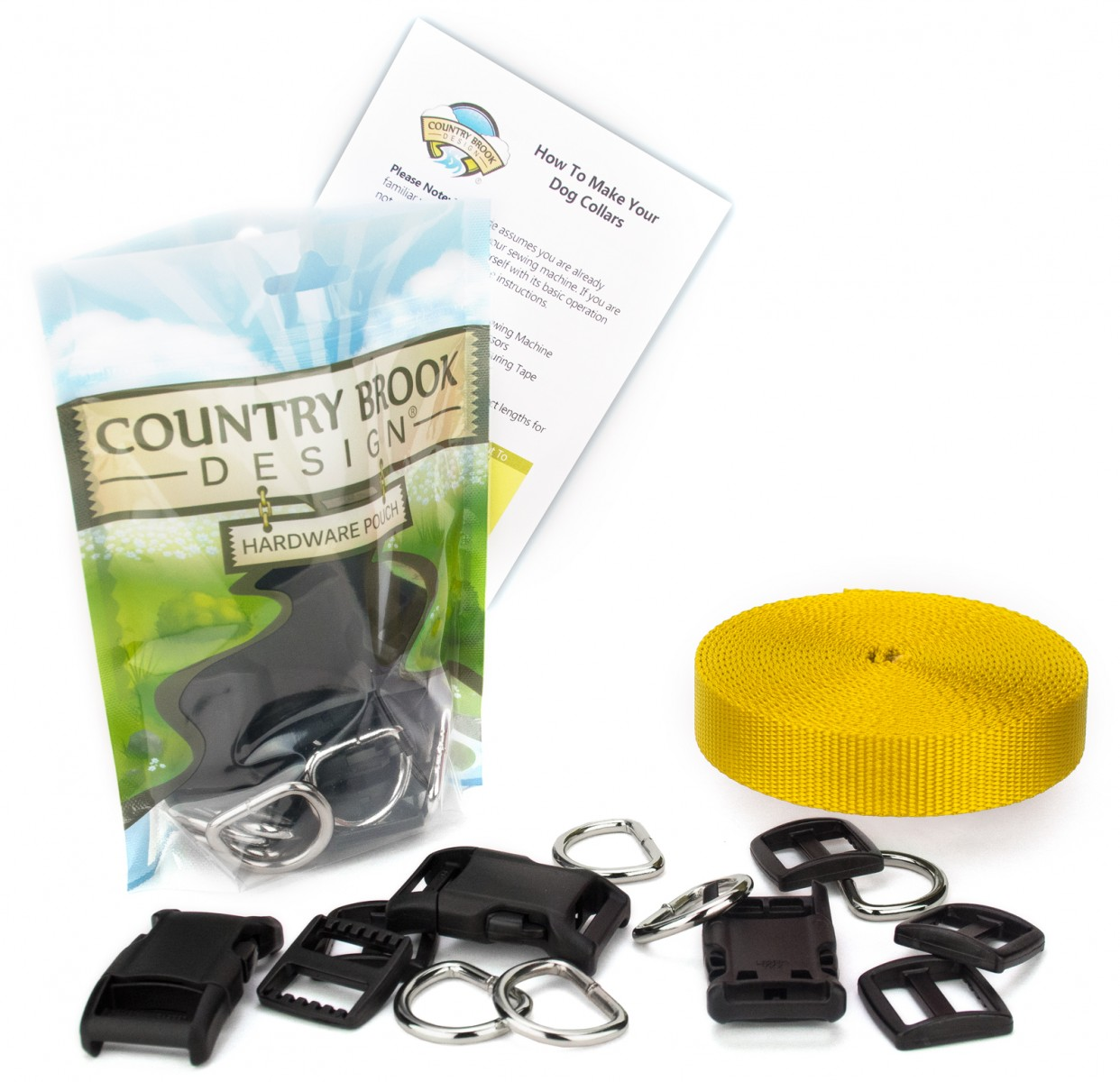 Buy 5 8 Inch Deluxe Dog Collar Kit With Nylon Webbing Online