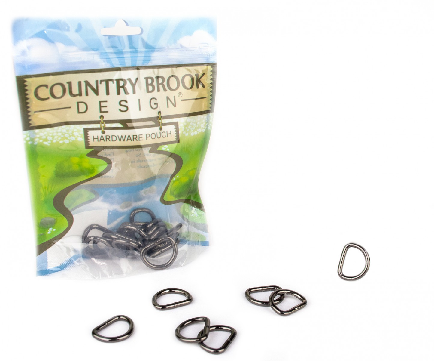 Country Brook Design 50 Pack 5//8 Inch Welded D-Rings