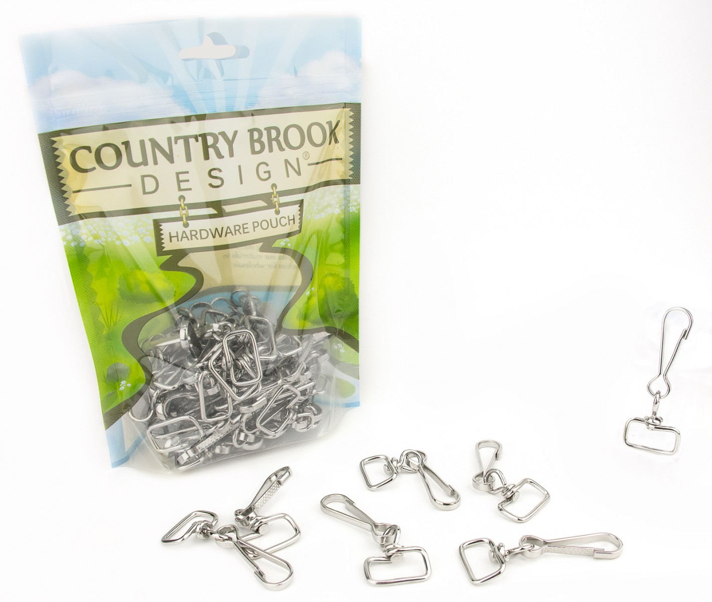 Country Brook Design® 1 3//8 Inch Steel S-Hooks 50