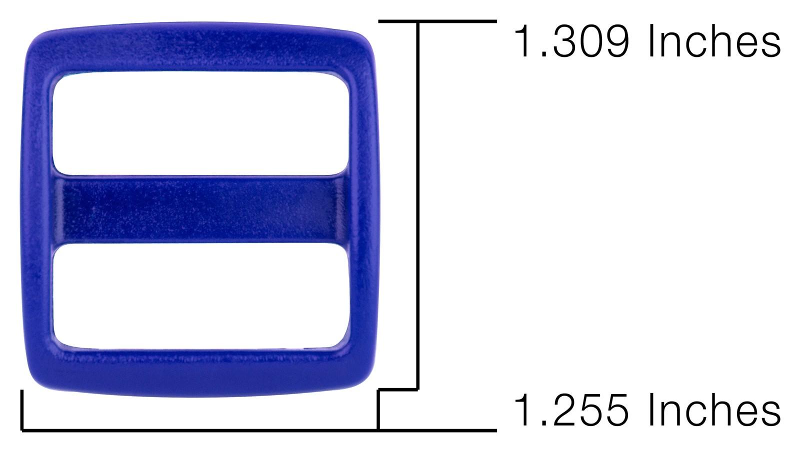 50-3//4 Inch Royal Blue YKK Wide Mouth Heavyduty Triglide Slides