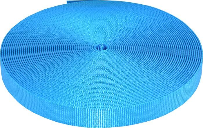 Buy 3 4 inch ice blue heavy plus nylon webbing closeout online for Piscine plastique dur