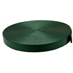 3/4 Inch Forest Green Super Heavy Nylon Webbing Closeout