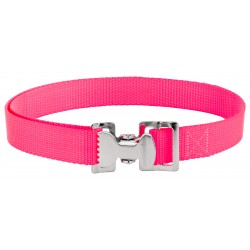 Alligator Clip Nylon Tie Down Straps - Hot Pink - 4 Feet