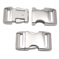 3/4 Inch Aluminum Side Release Buckles