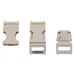 5/8 Inch Metal Contoured Side Release Buckles