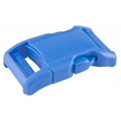 1 Inch Blue Contoured Side Release Plastic Buckles YKK
