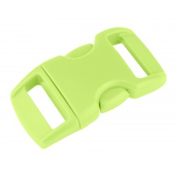 3/8 Inch Glow-in-the-Dark Contoured Side Release Plastic Buckle Closeout