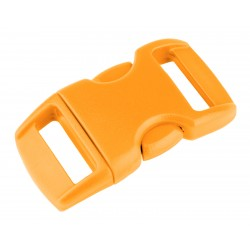 3/8 Inch Gold Contoured Side Release Plastic Buckle Closeout