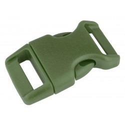 5/8 Inch Military Green Contoured Side Release Plastic Buckle Closeout