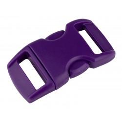3/8 Inch Purple Contoured Side Release Plastic Buckle Closeout