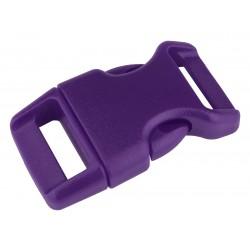 5/8 Inch Purple Contoured Side Release Plastic Buckle Closeout