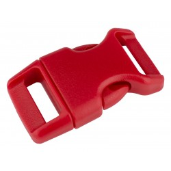 5/8 Inch Red Contoured Side Release Plastic Buckle Closeout