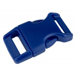 5/8 Inch Royal Blue Contoured Side Release Plastic Buckle Closeout