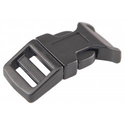 5/8 Inch Economy Contoured Side Release Plastic Buckles