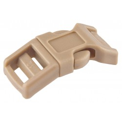 1/2 Inch Coyote Tan Economy Contoured Side Release Plastic Buckles