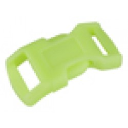 1/2 Inch Glow-in-the-Dark Economy Contoured Side Release Plastic Buckle Closeout