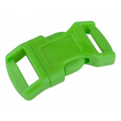 1/2 Inch Hot Lime Green Economy Contoured Side Release Plastic Buckle Closeout