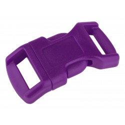 1/2 Inch Purple Economy Contoured Side Release Plastic Buckle Closeout