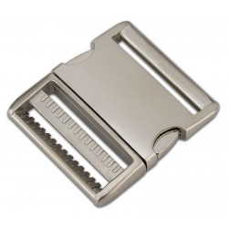 2 Inch Satin Aluminum Side Release Buckles