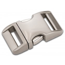 3/4 Inch Satin Aluminum Side Release Buckles