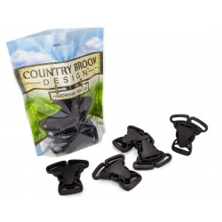 1 Inch 3 Point Quick Release Plastic Buckle