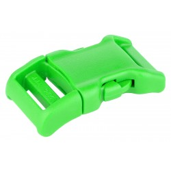 3/4 Inch Hot Green YKK Contoured Side Release Plastic Buckle