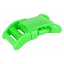 5/8 Inch Hot Green YKK Contoured Side Release Plastic Buckle