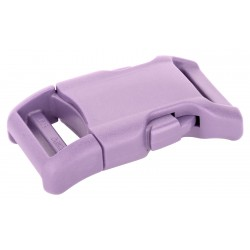 1 Inch Lavender YKK Contoured Side Release Plastic Buckle
