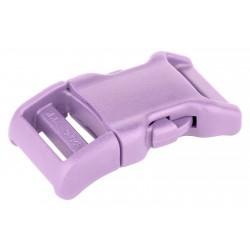 3/4 Inch Lavender YKK Contoured Side Release Plastic Buckle