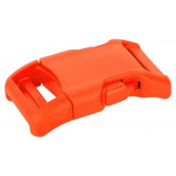 1 Inch Neon Orange YKK Contoured Side Release Plastic Buckle