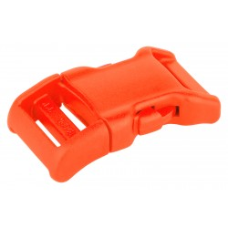 3/4 Inch Neon Orange YKK Contoured Side Release Plastic Buckle