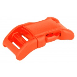 5/8 Inch Neon Orange YKK Contoured Side Release Plastic Buckle