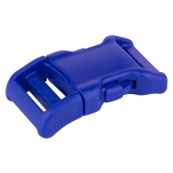 3/4 Inch Royal Blue YKK Contoured Side Release Plastic Buckle