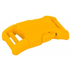 1 Inch Yellow YKK Contoured Side Release Plastic Buckle