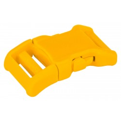 3/4 Inch Yellow YKK Contoured Side Release Plastic Buckle