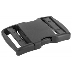 1 1/2 Inch YKK Flat Dual Adjustable Side Release Plastic Buckles