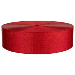 2 Inch Seat-belt Christmas Red Polyester Webbing Closeout